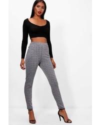 Boohoo Layla Check Skinny Trouser