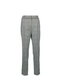 MSGM Raw Edge Detail Tailored Trousers