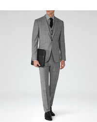 Reiss Avery Large Check Suit