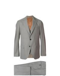Gabriele Pasini Three Piece Check Suit