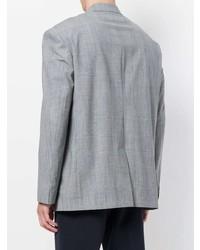 Tonello Cs Checked Buttoned Blazer Unavailable