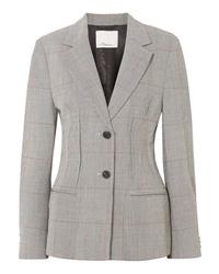 3.1 Phillip Lim Checked Wool Blend Blazer