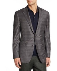 Saks Fifth Avenue Collection By Samuelsohn Checked Wool Sportcoat