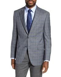 Peter Millar Flynn Classic Plaid Wool Sport Coat