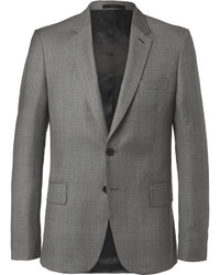 Paul Smith Grey Soho Slim Fit Prince Of Wales Checked Wool Suit Jacket