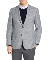 JB Britches Jb Britches Classic Fit Check Wool Sport Coat