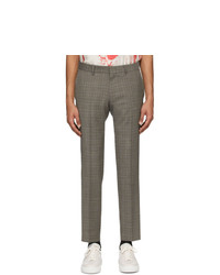 Tiger of Sweden Grey Check Tord Trousers