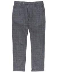Barena Rampin Fero Check Plaid Wool Pants