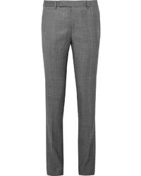 Soho Checked Wool Suit Trousers