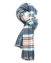 Acne Studios Check Wool Scarf