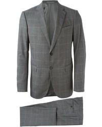 Armani Collezioni Tonal Checked Suit