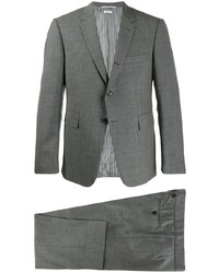 Thom Browne Classic Two Piece Suit With Tie