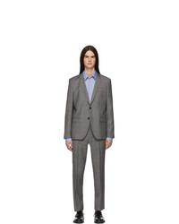 Hugo Grey Check Artihesten Suit