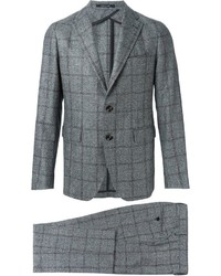 Tagliatore Checked Two Piece Suit