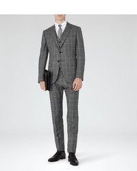Reiss Melvin Wool Check Suit