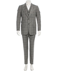 Tom Ford Wool Three Piece Suit