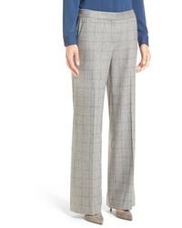 Classiques entier windowpane wool cashmere blend trousers medium 827548
