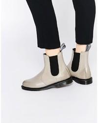 Grey chelsea boots original 1650291