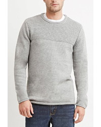 21men 21 Mixed Knit Sweater