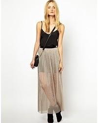 Selected Arin Pleated Maxi Skirt