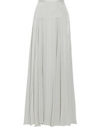 Tareza silk blend maxi skirt medium 49952