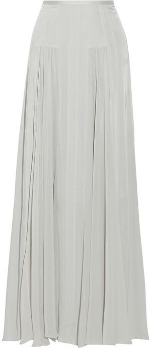 By Malene Birger Tareza Silk Blend Maxi Skirt | Where to buy & how ...