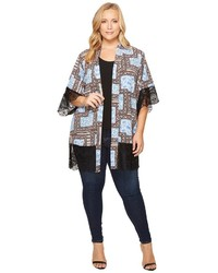 Kiyonna Shayla Chiffon Kimono Clothing
