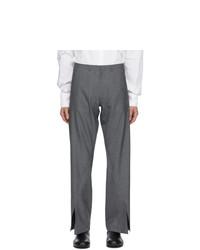 Bianca Saunders Grey Aul Split Cuff Trousers