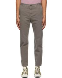 John Elliott Grey Canyon Work Chino Trousers