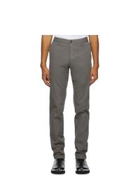 AMI Alexandre Mattiussi Grey Chino Trousers