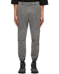 Juun.J Grey Denim Dyed Trousers