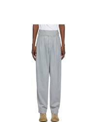 Isabel Marant Grey Denim Ogeny Trousers