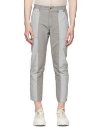 Eckhaus Latta Grey Pink Blunt Redux Trousers
