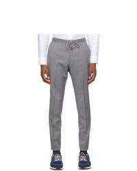 Z Zegna Grey Techmerino Lounge Pants