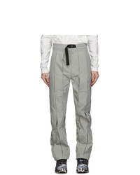 Post Archive Faction PAF Grey Technical 31 Center Trousers