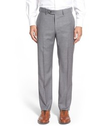 John W Nordstrom Creased Wool Chinos