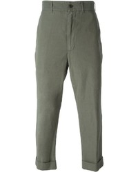 Lardini Wooster Cropped Chino Trousers