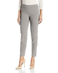 Slim Sation Wide Band Pull On Ankle Pant With Tummy Control