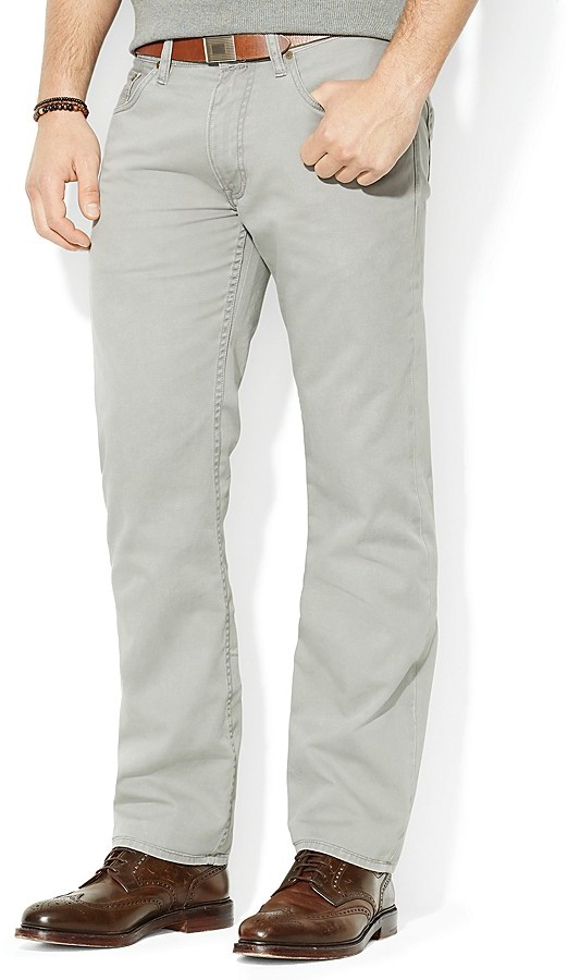 23509185312b ... Polo Ralph Lauren Straight 5 Pocket Chino Pant Classic Fit ...