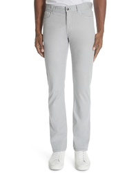 Canali Stretch Wool Five Pocket Trousers