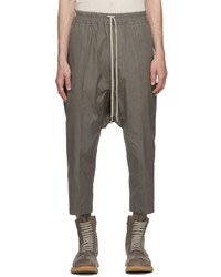 Rick Owens Taupe Trousers