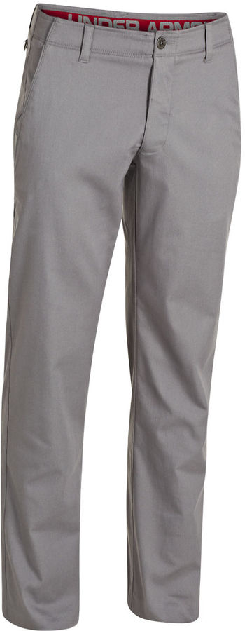 Grey Chinos: Under Armour Straight Leg Chino Pants