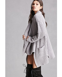 Forever 21 Chunky Draped Cardigan