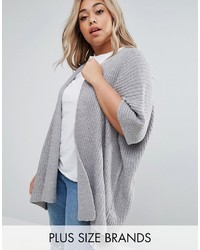 Brave Soul Plus Shawl Cardigan