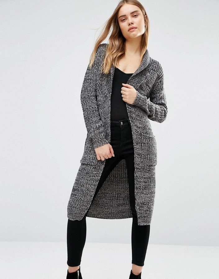 Qed London Chunky Longline Cardigan | Where to buy & how to wear