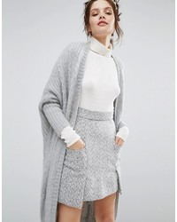 Willow And Paige Maxi Cable Knit Cardigan