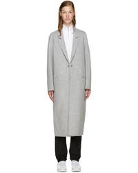 Acne Studios Grey Wool Foin Coat