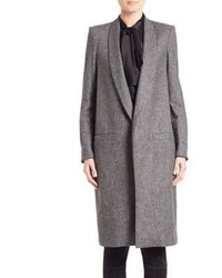 Alice + Olivia Kylie Long Shawl Collar Coat