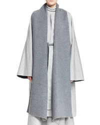 The Row Arnet Melange Cutaway Coat