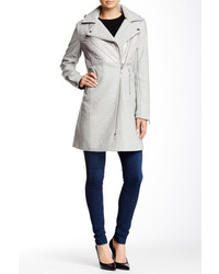 BCBGeneration Asymmetric Packable Wool Blend Coat